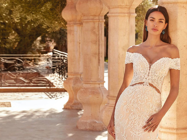 Las 6 tendencias en escotes 2021 que debes conocer antes de elegir tu vestido de novia