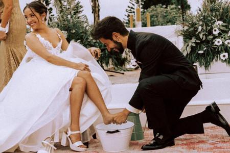 Lavado de pies: descubran en qué consiste y cómo incorporar esta ceremonia simbólica a su matrimonio