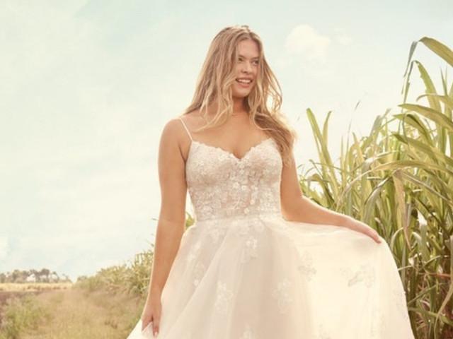 Vestidos de novia Rebecca Ingram 2021: ¡primavera eterna!