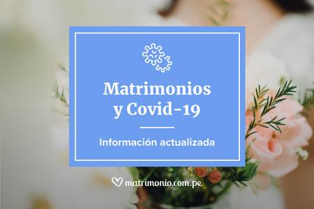 Centro de ayuda para bodas: guía útil sobre el coronavirus en el Perú