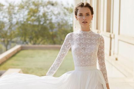 Vestidos de novia 2020 con abertura en la pierna: sutiles como sugerentes