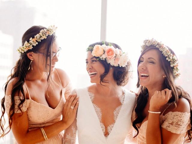 Tendencias en peinados de novia con cerquillo: 20 propuestas increíbles