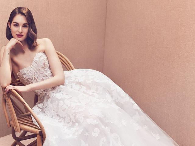 Vestidos de novia 2020 con encaje: 50 propuestas para un look bridal de ensueño