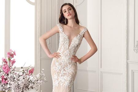 50 vestidos de novia 2019 con colas espectaculares