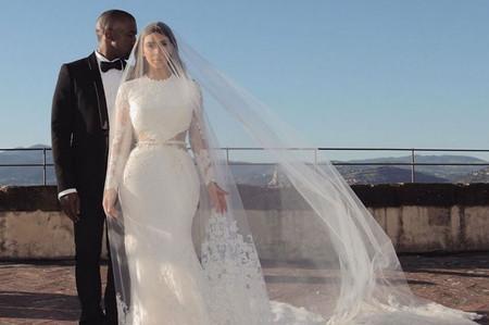 Kim Kardashian y Kanye West celebran su quinto aniversario de matrimonio