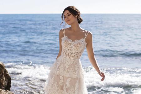 50 vestidos de novia 2021 para un matrimonio en verano