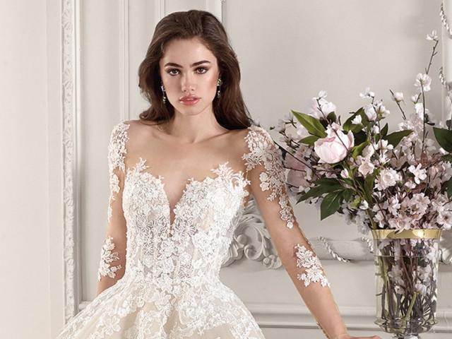 50 vestidos de novia 2019 con tattoo lace: ¡detalles irresistibles!