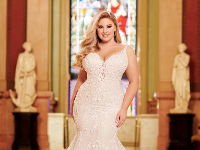 6 secretos para elegir el mejor vestido para novias curvy