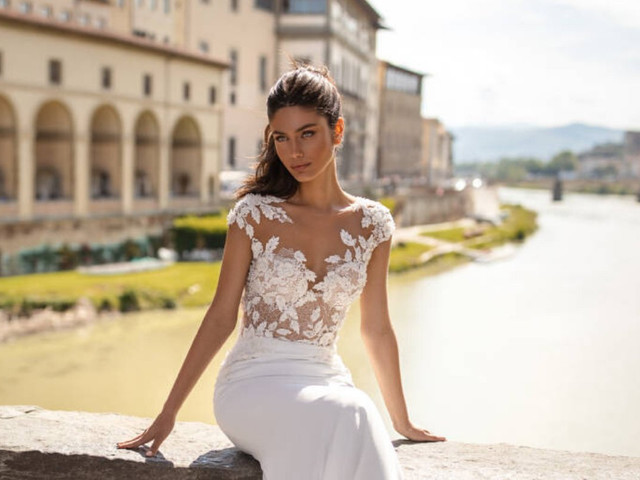 45 más bellos vestidos de novia para matrimonios al aire libre: ¿cuál usarás?