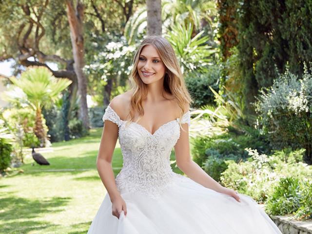 101 vestidos de novia corte princesa: ¡los diseños más espectaculares del 2021!