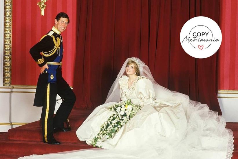matrimonio principe carlos y lady diana