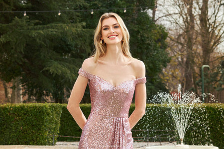 Tendencias super fashion en vestidos de fiesta 2021 para damas de honor