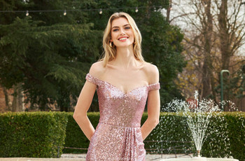 Tendencias super fashion en vestidos de fiesta 2021 para damas de honor