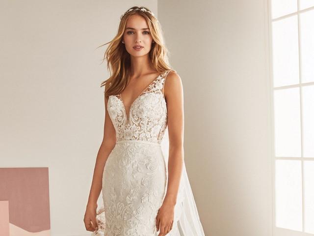 Tendencias 2019 en vestidos de novia de corte sirena ¡te dejarán sin aliento!