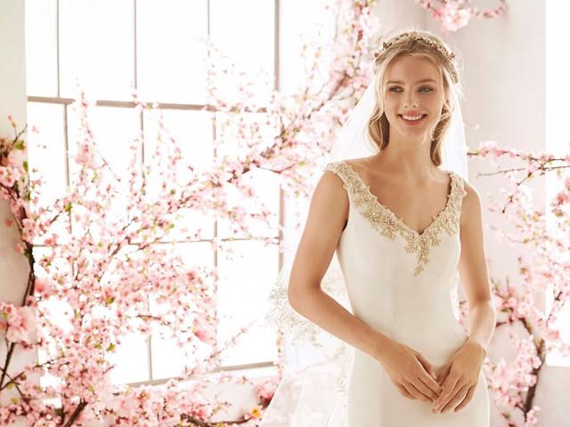 Vestidos de novia para un matrimonio en primavera ¡50 diseños idílicos!