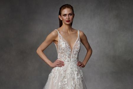 Vestidos de novia Badgley Mischka 2020: alta costura bridal en su máxima expresión