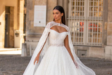 Vestidos de novia Milla Nova 2021: colección París ¡brilla el día de tu boda!