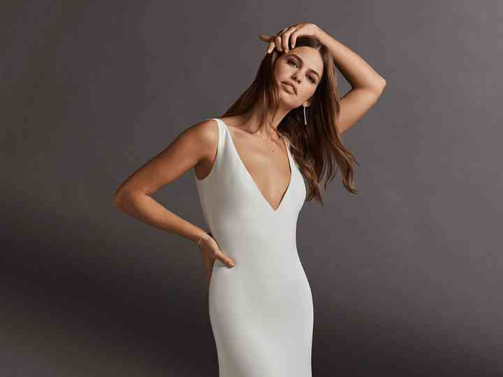 Vestidos De Novia 2020 Para Boda Civil 50 Diseños Para Elevar Tu Outfit Preparada