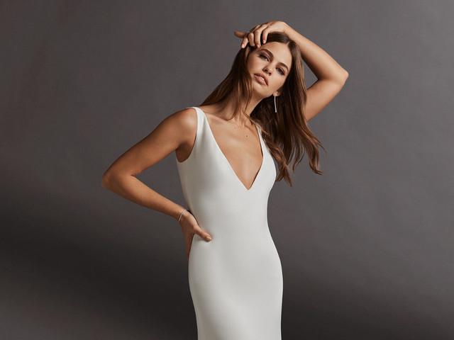 Vestidos de novia 2020 para boda civil: 50 diseños para elevar tu outfit ¿preparada?