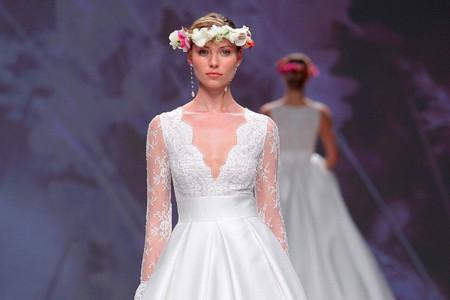 Vestidos de novia Aire Barcelona 2020: diseños que marcarán tendencia