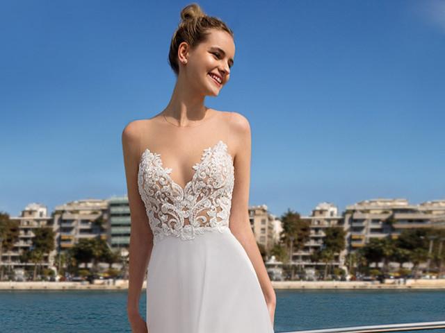 40 vestidos de novia para verte delgada: descubre el que más te estiliza
