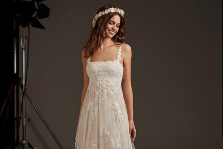30 vestidos de novia corte imperio: descubre el diseño perfecto para ti