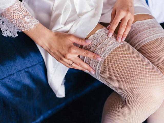 Guía para elegir las medias perfectas ¡atención novias!