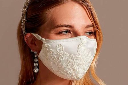 27 mascarillas de novia en todos los estilos: ¡Boda en tiempos del coronavirus!