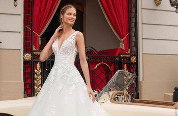 30 vestidos de novia para elevarte de felicidad: Aire Barcelona 2021