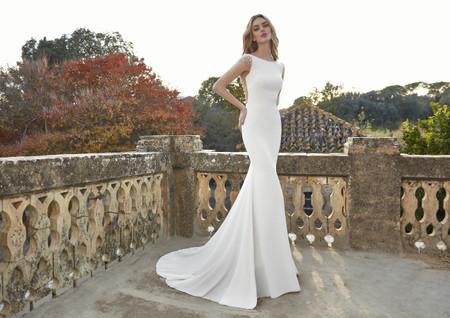 Tendencias en vestidos de novia corte sirena 2021: ¡atracción sin límites!