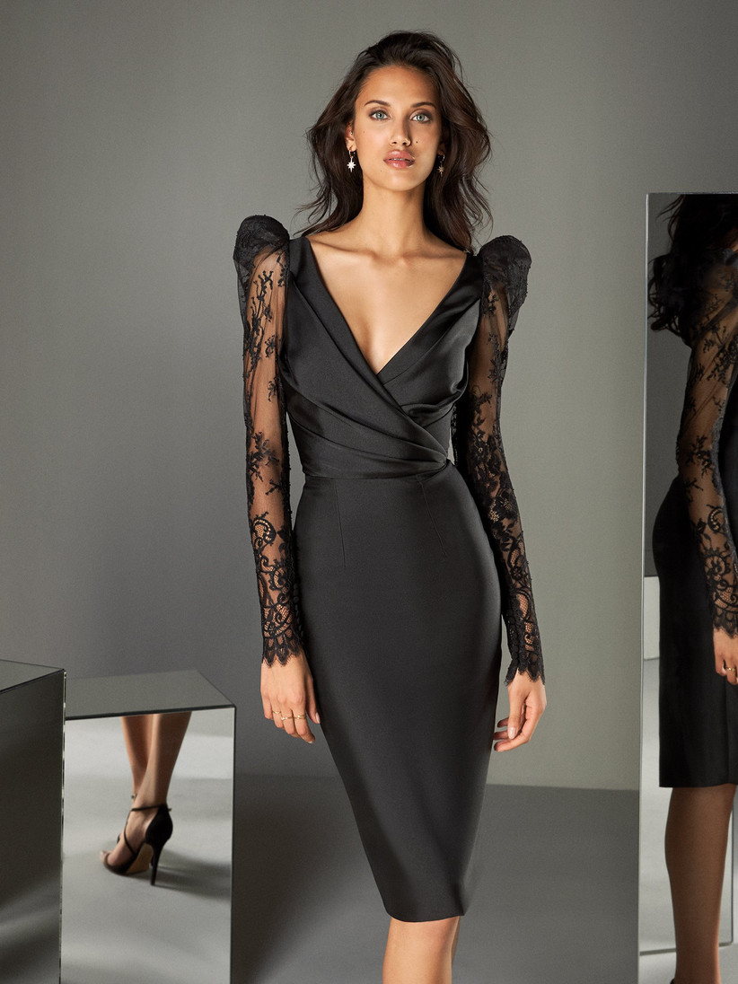 Vestidos cortos para invitadas de lujo 👗 4