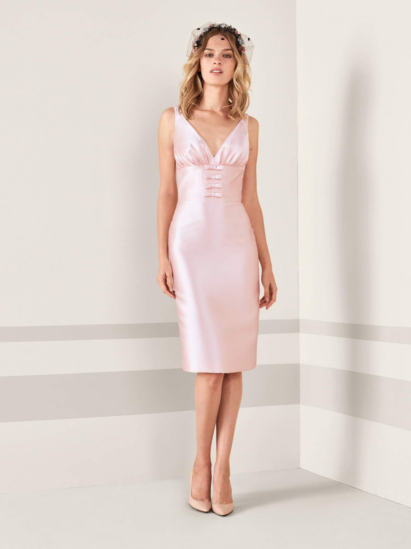 Vestidos cortos para invitadas de lujo 👗 1