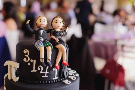 Con estos toppers su torta de matrimonio será la más chic ¡tendencias 2021!