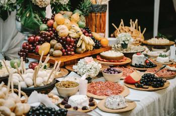 Catering de matrimonio: tendencias para su recepción bridal