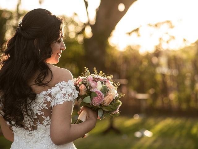 Peinados semirecogidos para novia ¡elige el mejor según el largo de tu cabello!