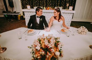 5 preguntas que deben hacerse para elegir el mejor menú de matrimonio