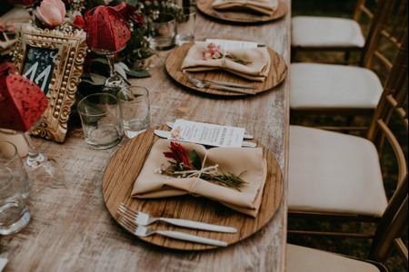 6 formas de personalizar los nombres de las mesas del banquete de matrimonio