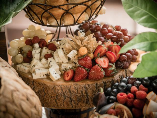 Frutas en la mesa de dulces: 6 formas maravillosas de incluirlas