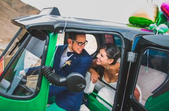 ¡Atención pareja! Estas son las alternativas más allá del auto para llegar y salir de su matrimonio