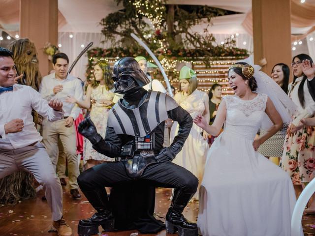 Matrimonio inspirado en Star Wars: 10 ideas perfectas, ¡qué la fuerza los acompañe!