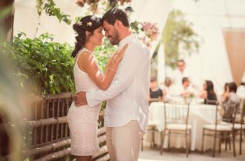 Matrimonio Total White: 4 claves para una boda romántica y atemporal