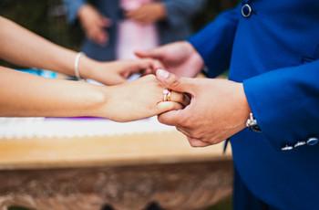 Casarse el domingo. ¡Descubran todas sus ventajas!