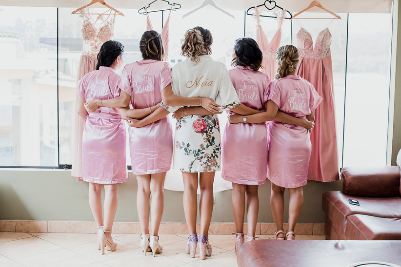 ¿Damas de honor y gustos diferentes?: 5 claves para armonizarlas