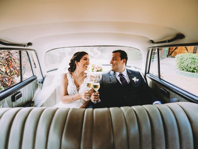 Decoración del auto de matrimonio ¡5 propuestas fieles a su estilo!