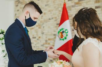 Nuevos protocolos para la celebración de bodas en el Perú