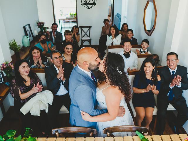 Estos son los besos de boda más bellos del Perú. ¡Amor para toda la vida!