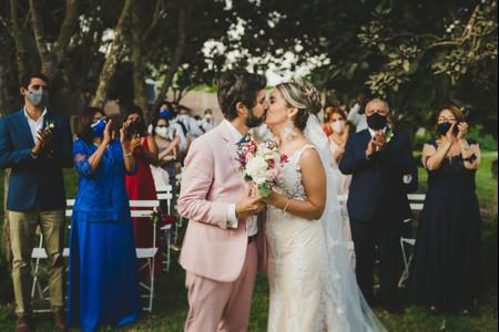 ¡Atención parejas! Estas son las 6 cosas que deben saber para organizar un matrimonio en pandemia