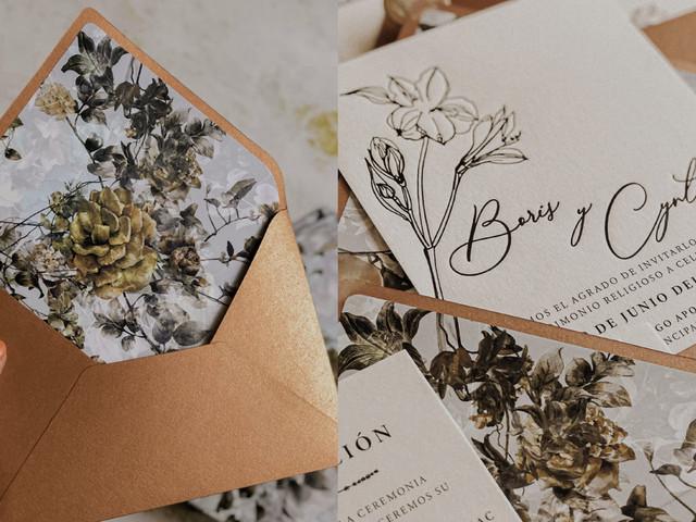 ¿En búsqueda del estilo perfecto para sus tarjetas de matrimonio? ¡Aquí les decimos cómo acertar!