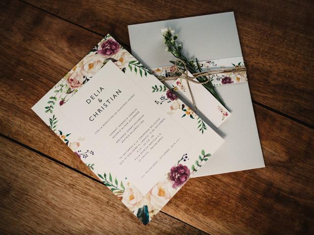 Invitaciones de matrimonio: todo lo que tienen que saber