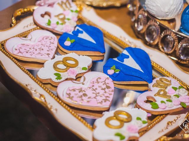 8 deliciosas ideas de galletas personalizadas para matrimonio